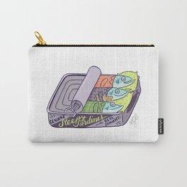 Sleepy Sardines Carry-All Pouch