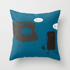 Like Father Like Son Throw Pillow