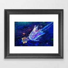 The Mimic Framed Art Print