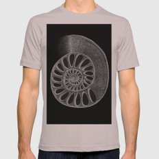 gyre black Mens Fitted Tee SMALL Cinder