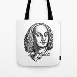 Antonio Vivaldi portrait Tote Bag