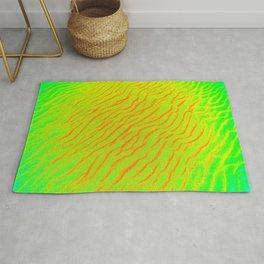 Color crazy ripples Rug