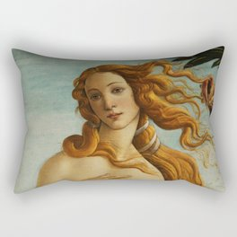 "Sandro Botticelli ""The Birth of Venus"" 2. Rectangular Pillow"
