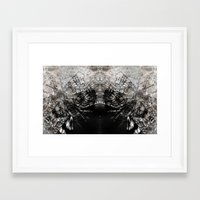 moth Framed Art Prints featuring MOTH by ED design for fun