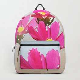 Pink Flower 15 Backpack