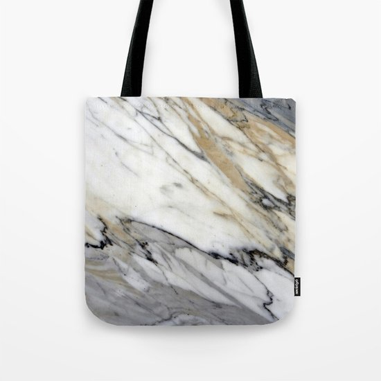Calacatta Marble Tote Bag