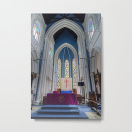 St Andrews Cathedral Singapore Metal Print