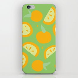 Tropical - Citrus iPhone Skin