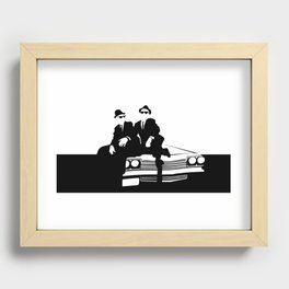 Blues Brothers Recessed Framed Print