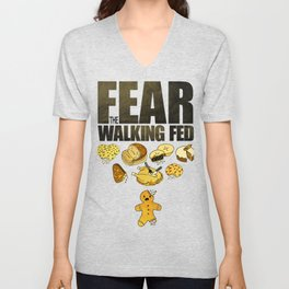 Fear the Walking Fed Unisex V-Neck