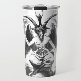 Baphomet - Satanic Church Travel Mug