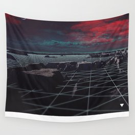 MOON GRID ∀ Wall Tapestry
