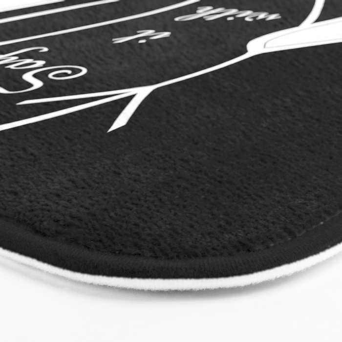 Say It With Your Hands Bath Mat