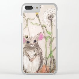 Squeak The Mouse Clear iPhone Case