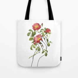 Flower in the Hand II Tote Bag