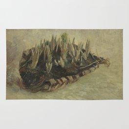 Basket of Crocus Bulbs Rug