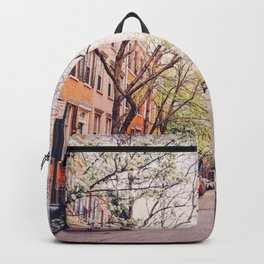 New York City - Springtime in the West Village Backpack
