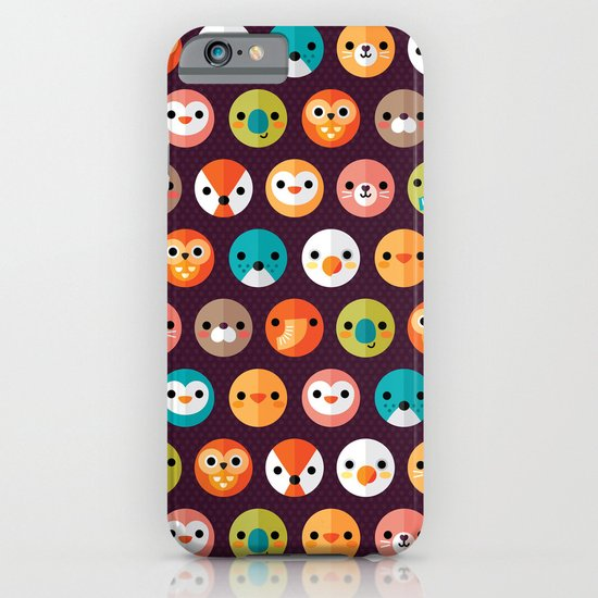 SMILEY FACES 1 iPhone & iPod Case