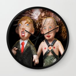 Donald & Vladimir. We Did It! One Year Anniversary. 11.8.2017 Wall Clock