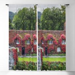Autumn Tea Room Llanrwst Blackout Curtain