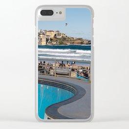 Bondi Skate Park, Bondi Beach, Sydney Clear iPhone Case