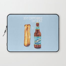 Food Pun - Sexy Chip 'N' Ale Laptop Sleeve