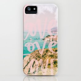 In Love with Big Sur #travel #California iPhone Case