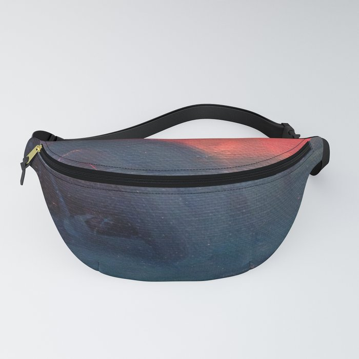 Angry Mountain / Female Figure Fanny Pack