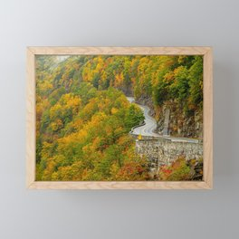 Hawk's Nest Autumn Framed Mini Art Print
