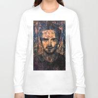 jesse pinkman Long Sleeve T-shirts featuring Jesse Pinkman by Sirenphotos