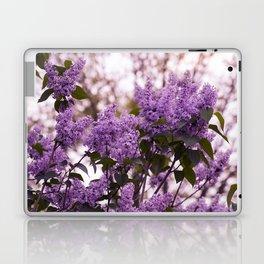 Purple lilacs Laptop & iPad Skin