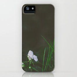 Lonely Flowers 02 iPhone Case