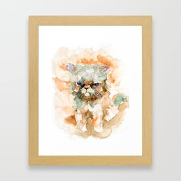 CAT#11 Framed Art Print