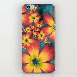 Chintz Flowers iPhone Skin