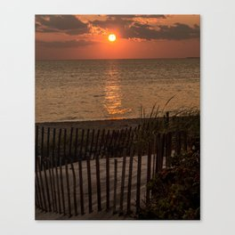 Truro Sunset, Cape Cod Canvas Print
