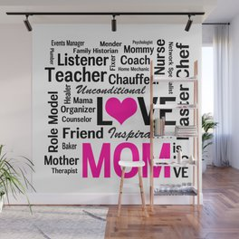 Amazing Do-it-All Mom Wall Mural