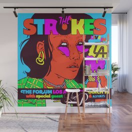 the strokes los angeles tour 2020 baukentut Wall Mural