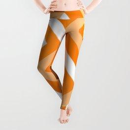 Geometry No. 1 -- Orange Leggings