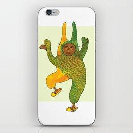 dancing rabbit iPhone Skin