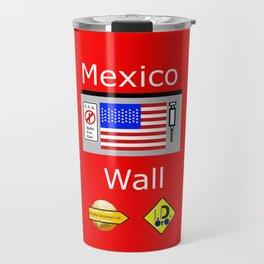 Mexico Wall Travel Mug