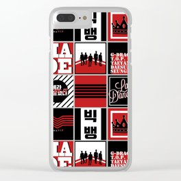 "Big Bang ""MADE"" Pattern Clear iPhone Case"