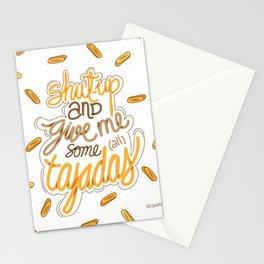 Tajadas love Stationery Cards
