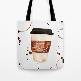 Coffee and Hustle on the Go Tote Bag