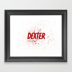Dexter#01 Framed Art Print
