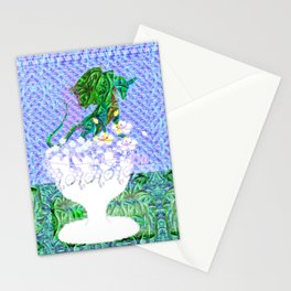 Tropical Dragon Garden  Stationery Cards