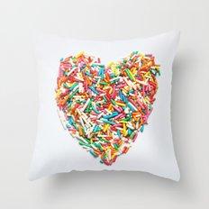 Sprinkles Party I Throw Pillow