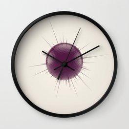 Displaced Sphere Wall Clock