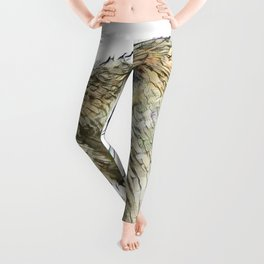 fascinating altered animals - Capybara Leggings