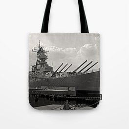 USS Wisconsin (BB-64) Tote Bag