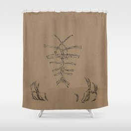 Pure Kinbaku Shower Curtain